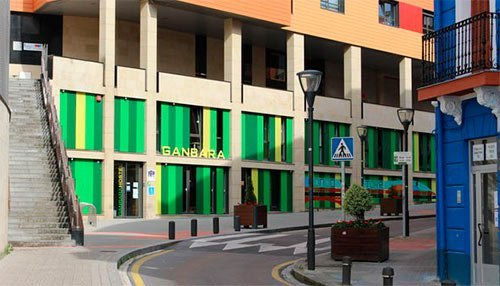Accommodation in Bilbao Ganbara Hostel