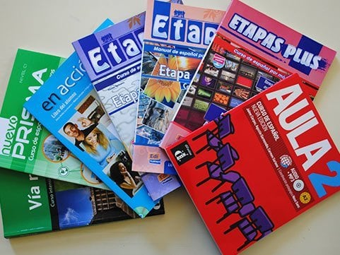 Material escolar cursos de español
