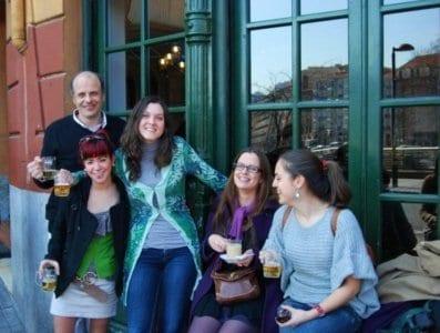 Estudiantes del Curso de Profesores de Español