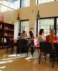 estudiantes de español en LINCE Spanish School