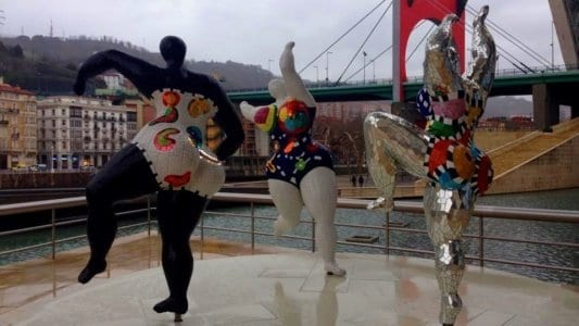 Exposición en Museo Guggenheim de Bilbao