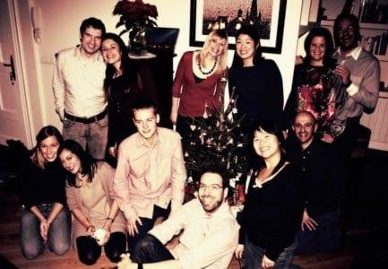 Navidad con estudiantes de español