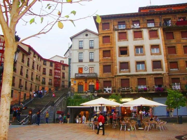 Plaza de Unamuno, Casco Viejo de Bilbao