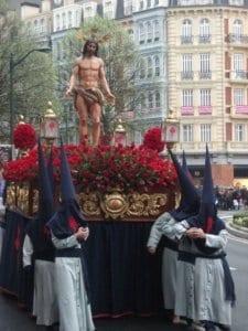 Procesión de Semana Santa en Bilbao