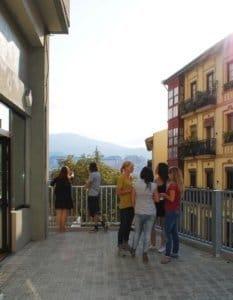 Terraza LINCE escuela de español